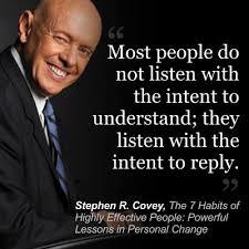 listening to hear